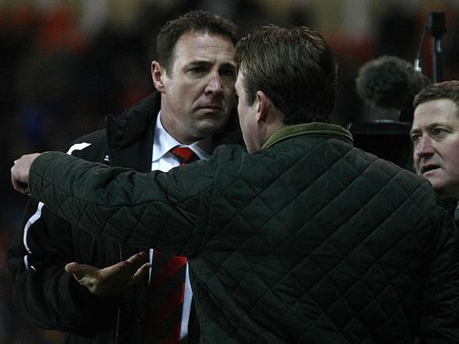 Malky Mackay&#39;s Cardiff beat Steve Thompson&#39;s Blackpool