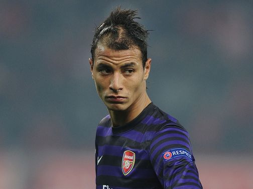 Marouane Chamakh: Signs for West Ham on loan