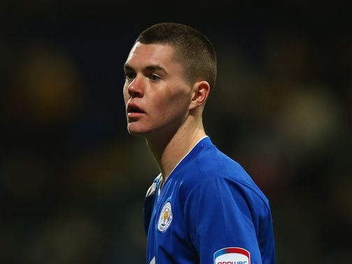 Michael Keane: On loan at Leicester
