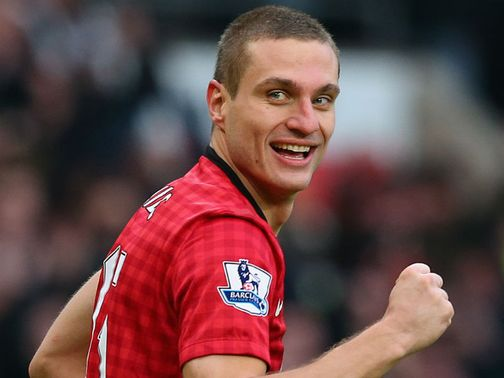 Nemanja Vidic: Trained on Monday