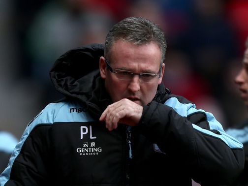 Lambert odds-on to be the next manager out