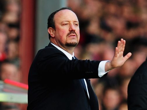 Rafael Benitez: Under fire at Griffin Park
