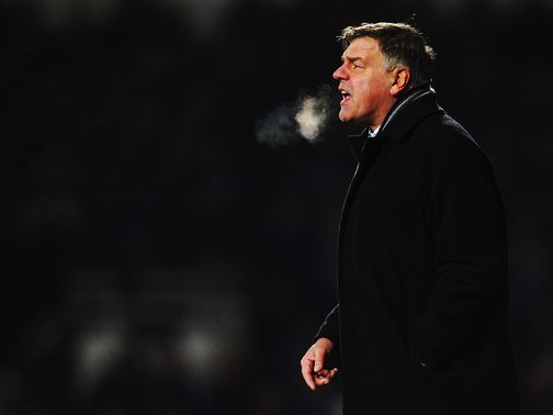 Allardyce is frustrated with lack of deals