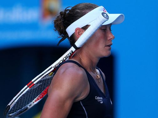 Stosur: Another early exit in Melbourne