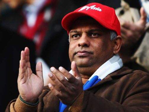 Tony Fernandes: Defends the club&#39;s transfer window spending