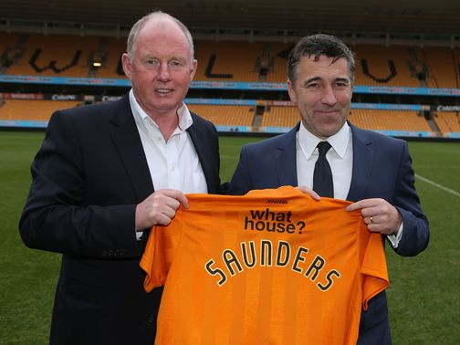 Steve Morgan: Appointed Dean Saunders as manager in January
