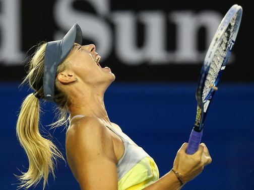 Maria Sharapova: Too strong for Venus Wiliams