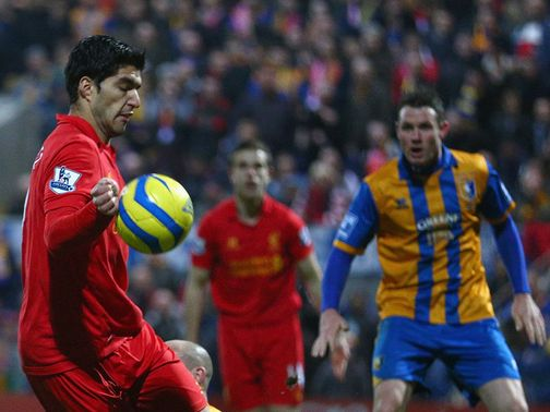 Luis Suarez: Criticised by Mansfield chairman