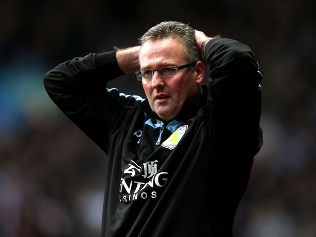 Lambert watched his side lose 1-0 to Southampton