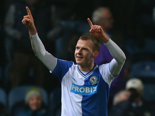 Jordan Rhodes: Came close to finding the net for Rovers