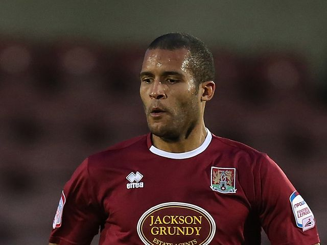 Clarke Carlisle: On target for the Cobblers