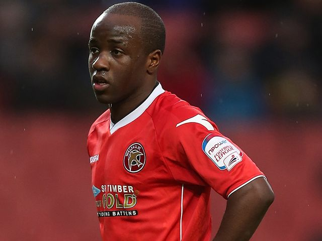 Febian Brandy: Opened the scoring for Saddlers