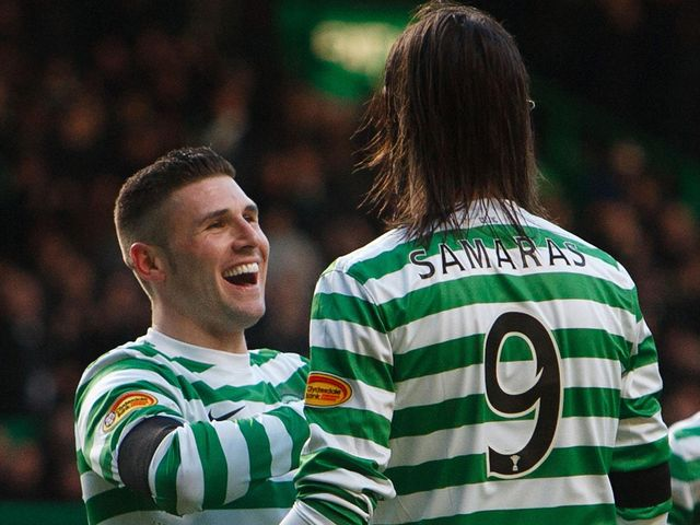 Gary Hooper: Scored two goals for Celtic