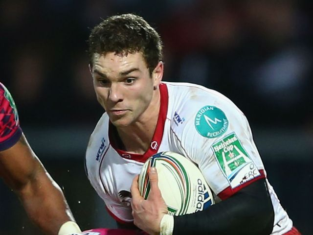 George North: Try scorer for Scarlets