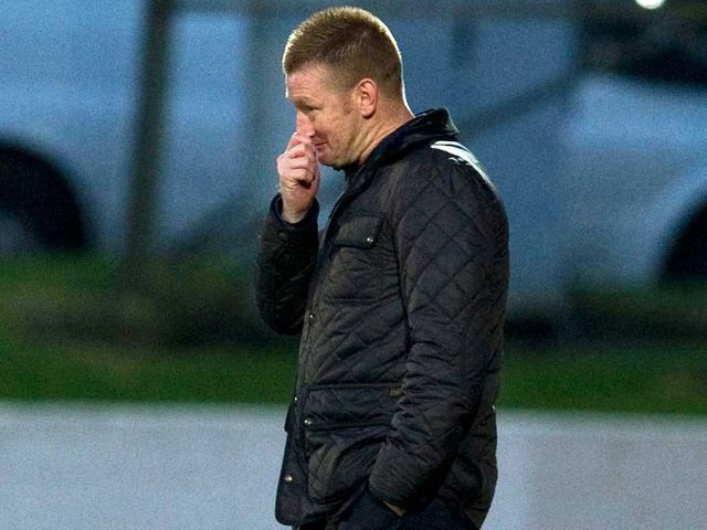 Steve Lomas: Under pressure after a heavy defeat