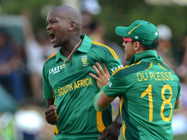 Lonwabo Tsotsobe: Picked up four wickets