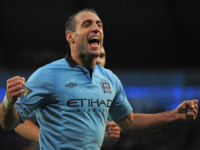 Zabaleta opened the scoring for Man City