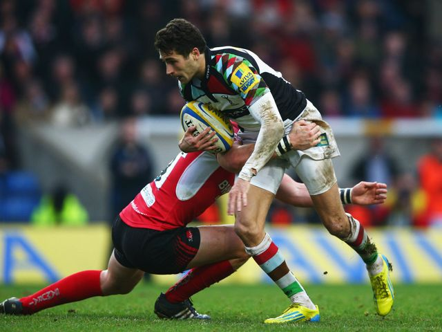 Ollie Lindsay-Hague in action for Harlequins