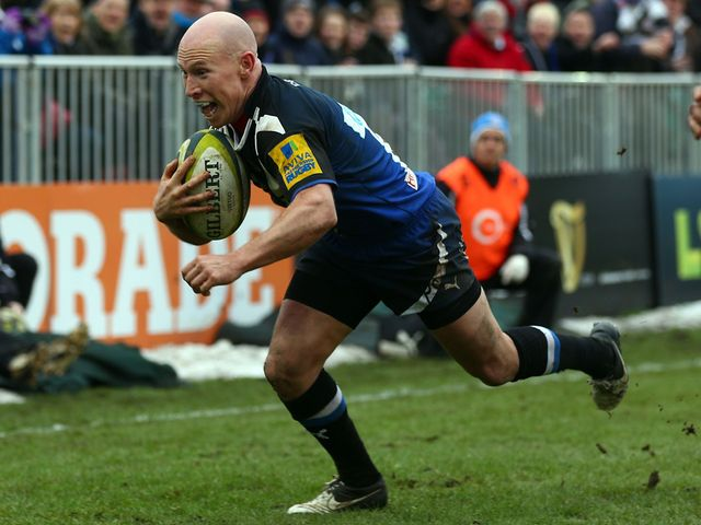 New Bath recruit Stringer scores one of his two tries