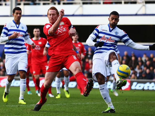Dean Lewington puts MK Dons into the lead at Loftus Road