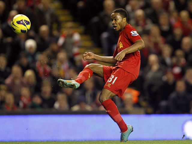 Raheem Sterling breaks the deadlock