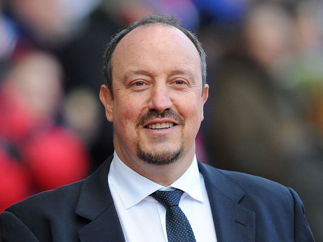 Benitez: Oversaw his team's 4-0 win at Stoke