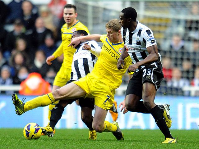 Pavel Pogrebnyak is the meat in a Newcastle sandwich