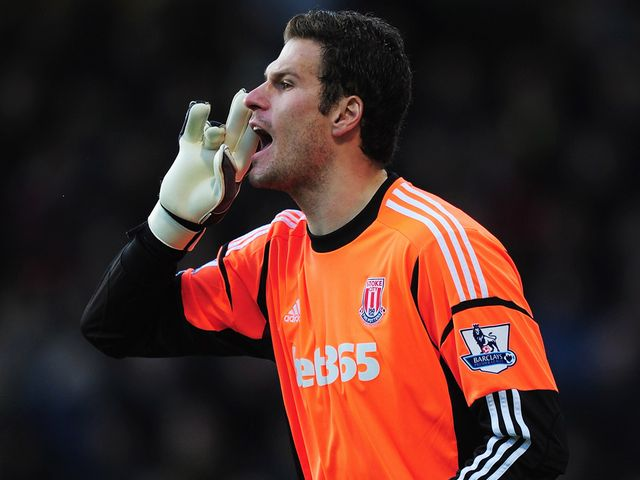 Asmir Begovic: Rated at £15million by Potters