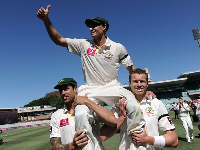 Michael Hussey: Fitting farewell to Test cricket