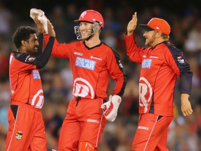 Muttiah Muralitharan: Took the key wicket of Kieron Pollard