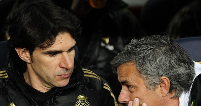 Aitor Karanka (left): Says Real Madrid are in good form ahead of Manchester United