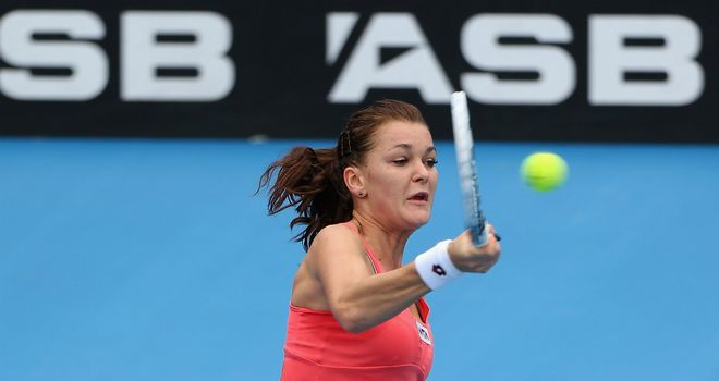 Agnieszka Radwanska: Pole off to positive start in 2013