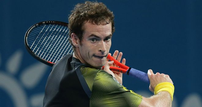 Andy Murray: overcame second-set blip to beat John Millman