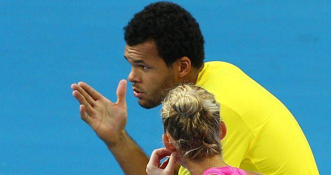 Jo-Wilfried Tsonga: Frenchman chats to Mathilde Johansson