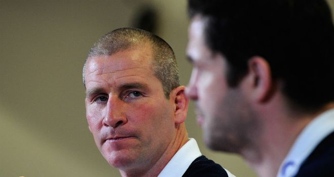 Stuart Lancaster: England coach came to the defence of his players