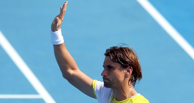 David Ferrer: Won in straight sets in less than an hour