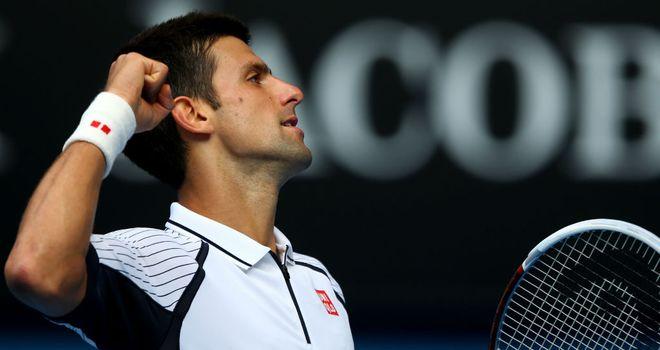 Novak Djokovic: Was made to work hard by Radek Stepanek
