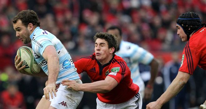 Ian Keatley: started the Heineken Cup win over Racing Metro