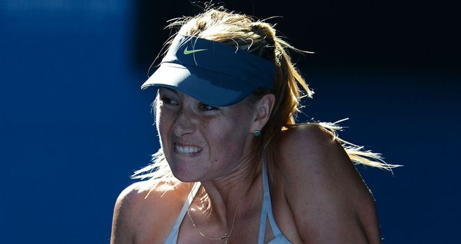 Maria Sharapova: Winner in straight sets