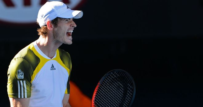 Andy Murray: Yet to drop a set at this year's Australian Open