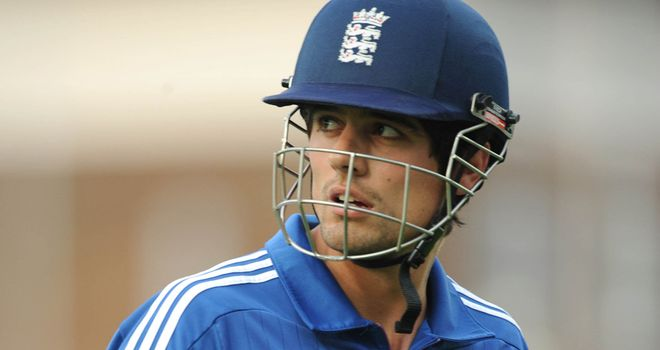 Alastair Cook: Hoping to captain England to a rare ODI series win over New Zealand
