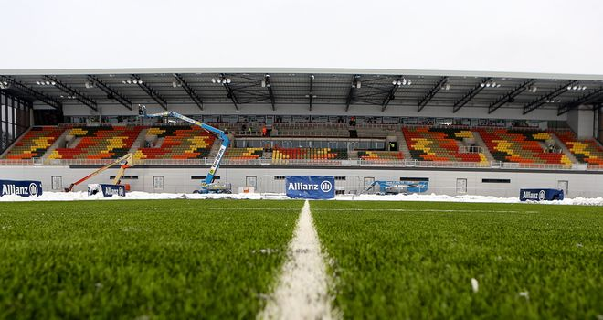 Allianz Park: Saracens hoping to host their Heineken Cup quarter-final at the new Barnet ground