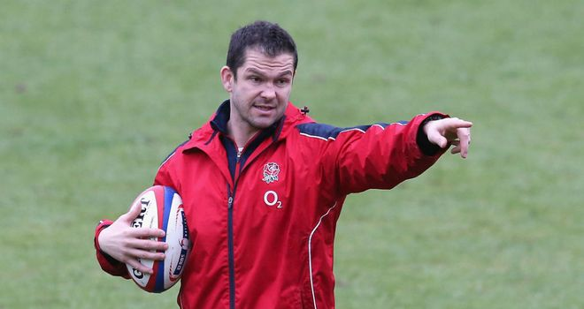 Andy Farrell: Oversees a Lions training session