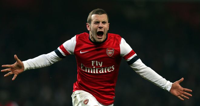 Jack Wilshere: Scored late winner to fire Arsenal past Swansea