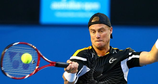 Lleyton Hewitt: Tough victory in San Jose
