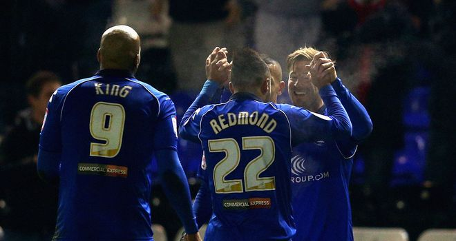 Wade Elliott: Scored the winner in the first half for Birmingham
