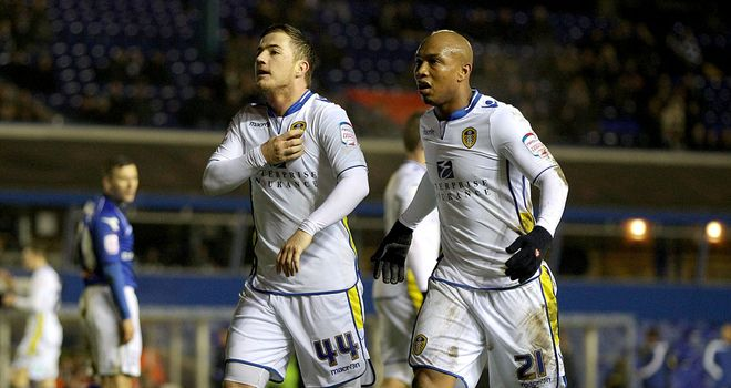 McCormack and Diouf: Leeds' heroes on the night