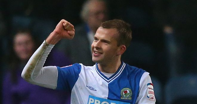 Jordan Rhodes: Scored yet again as Blackburn rescued a point