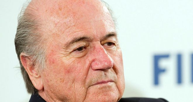 Sepp Blatter: Believes fans should see goal-line technology calls