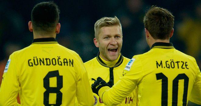 Jakub Blaszczykowski: Scored twice for Dortmund